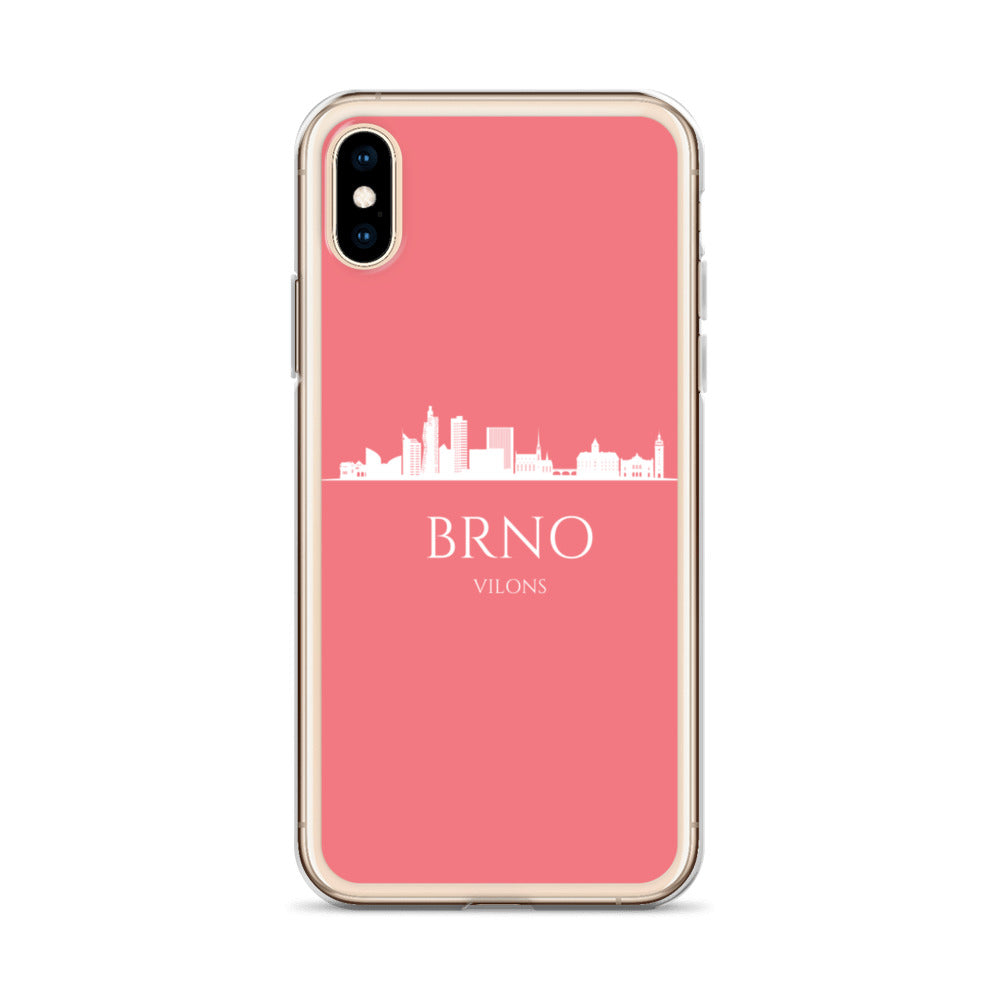 BRNO PINK/WHITE iPhone Case