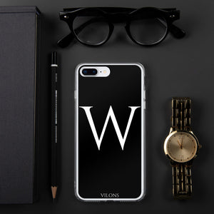 W BLACK iPhone Case