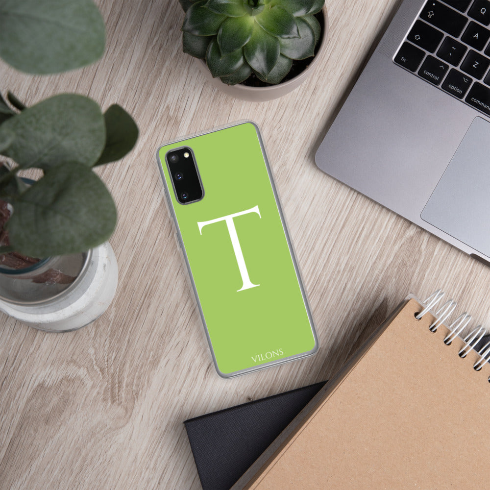 T GREEN Samsung Case