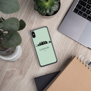 LONDON GREEN iPhone Case