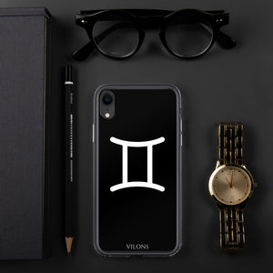 GEMINI BLACK iPhone Case