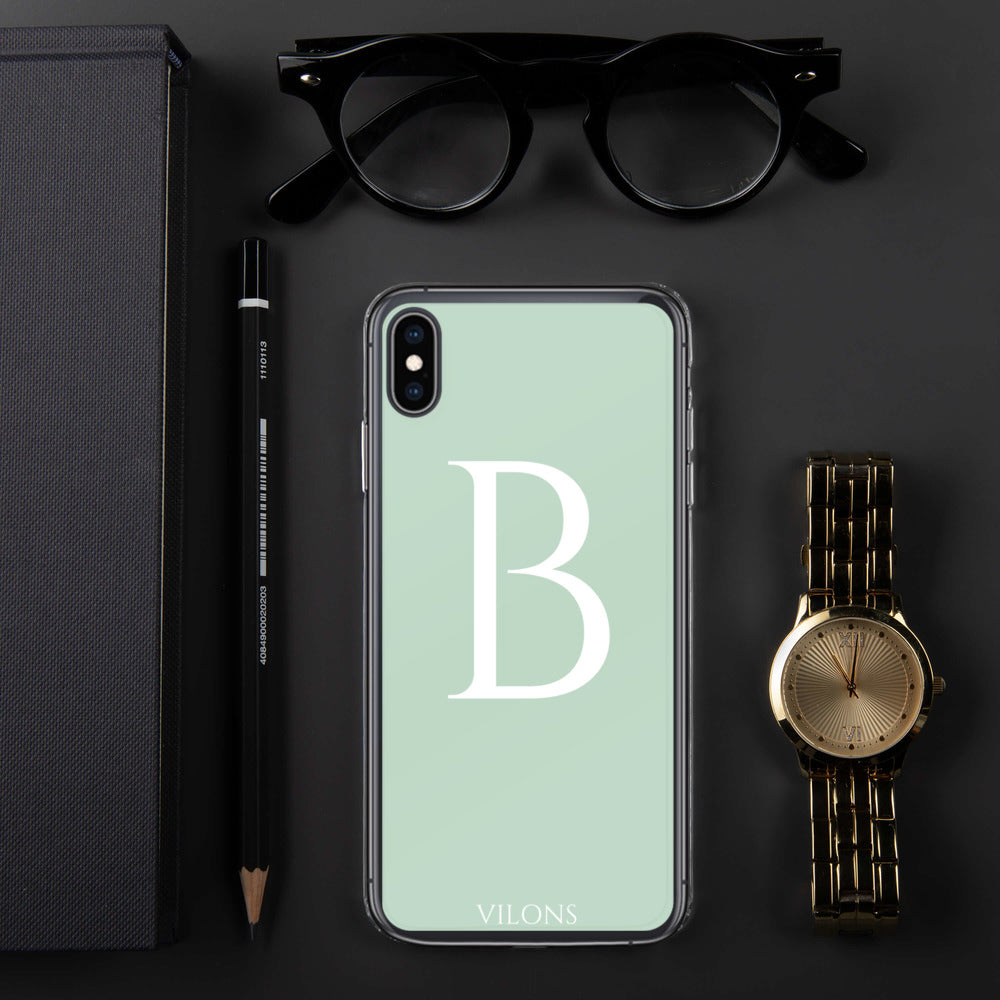 B LIGHT GREEN iPhone Case