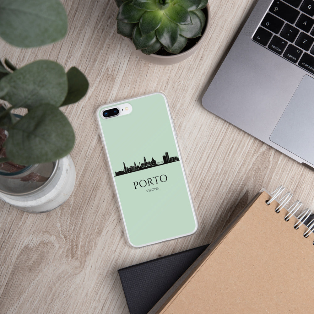 PORTO GREEN iPhone Case