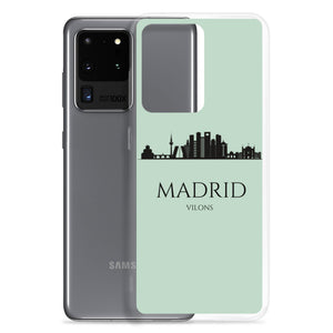 MADRID LIGHT BLUE Samsung Case