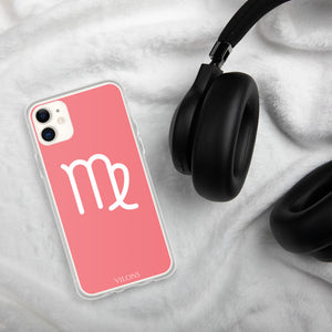 VIRGO PINK/WHITE iPhone Case