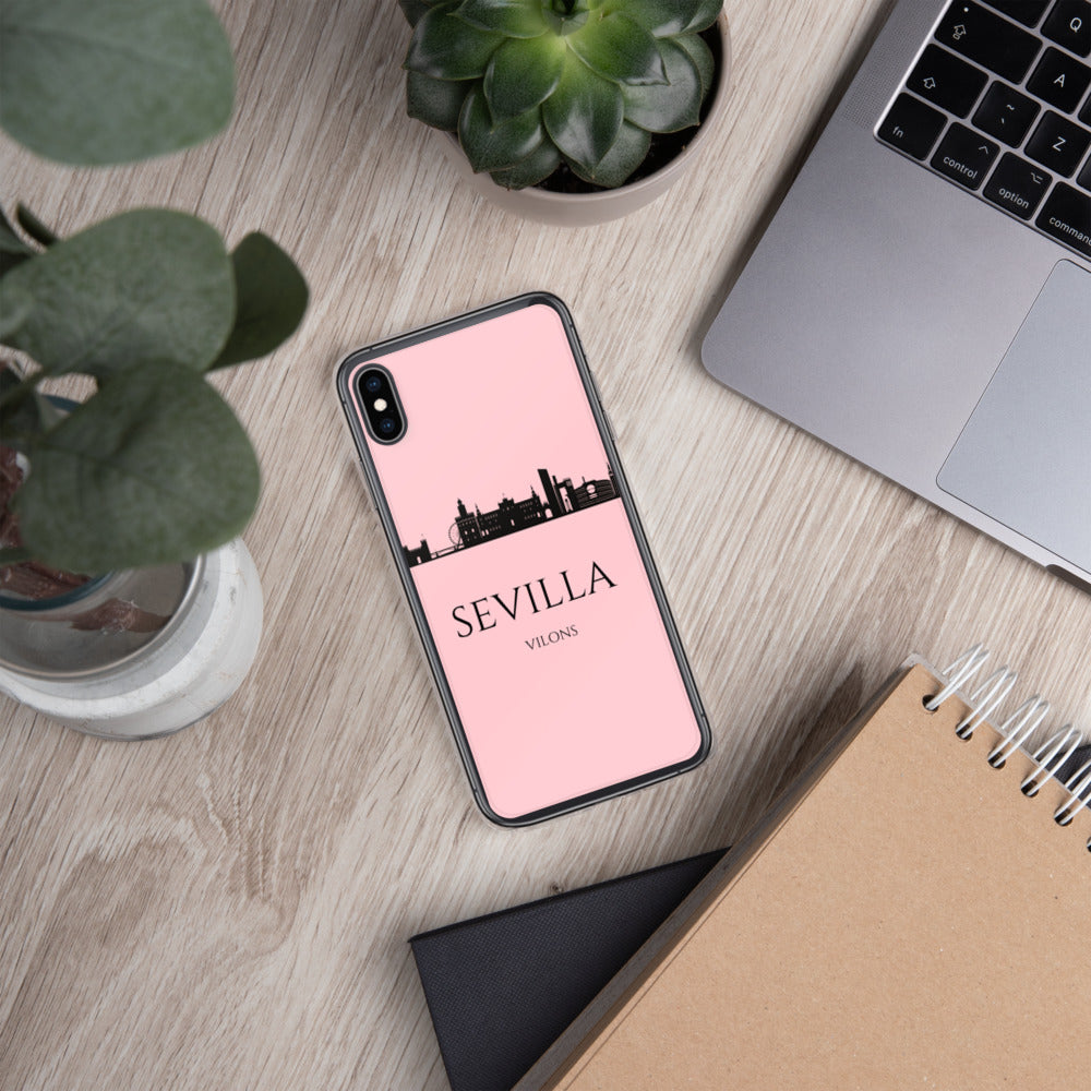 SEVILLA PINK iPhone Case