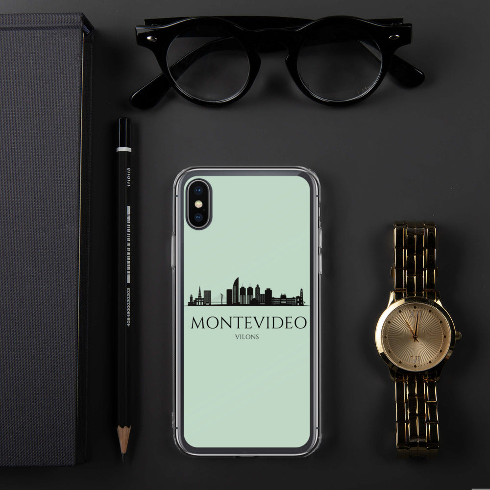 MONTEVIDEO GREEN iPhone Case