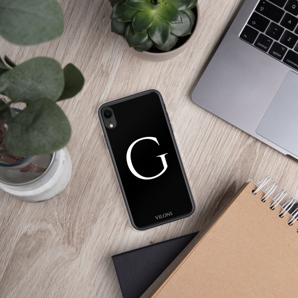 G BLACK iPhone Case