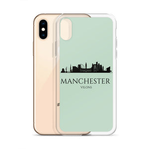 MANCHESTER GREEN iPhone Case