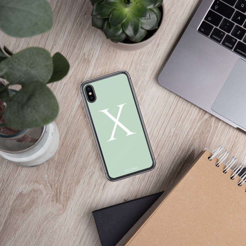 X LIGHT GREEN iPhone Case