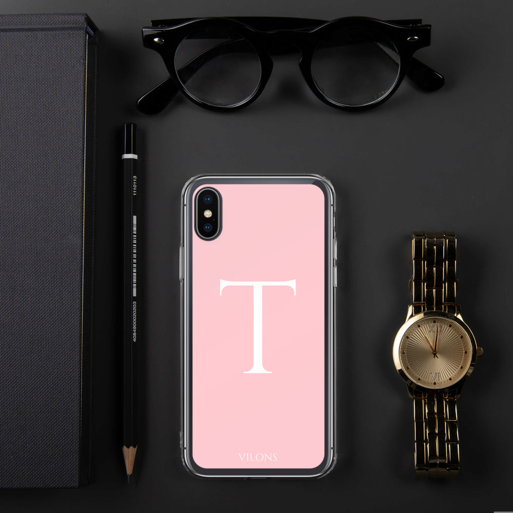 T PINK iPhone Case