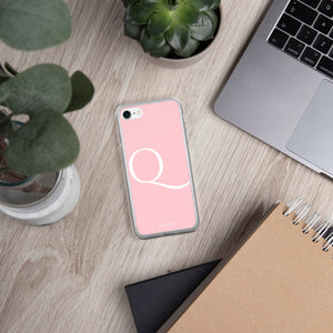 Q PINK iPhone Case