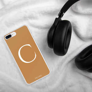 C BROWN iPhone Case