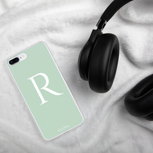 R LIGHT GREEN iPhone Case