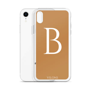 B BROWN iPhone Case