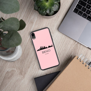 BRNO PINK iPhone Case