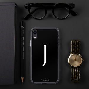 J BLACK iPhone Case