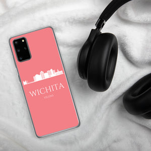 WICHITA PINK/WHITE Samsung Case