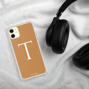 T BROWN iPhone Case