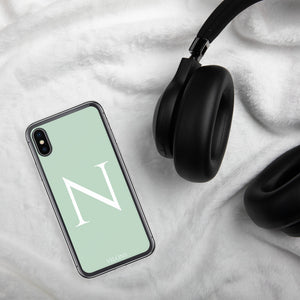 N LIGHT GREEN iPhone Case