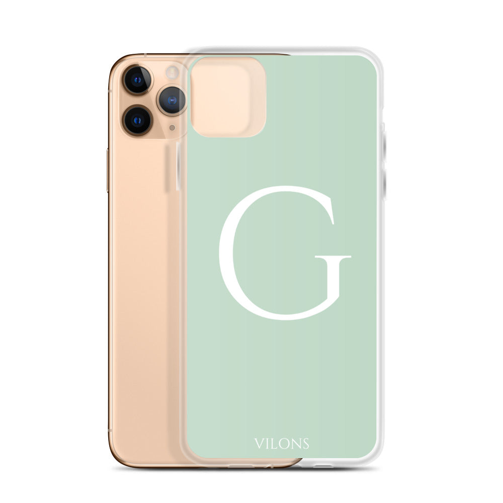 G LIGHT GREEN iPhone Case