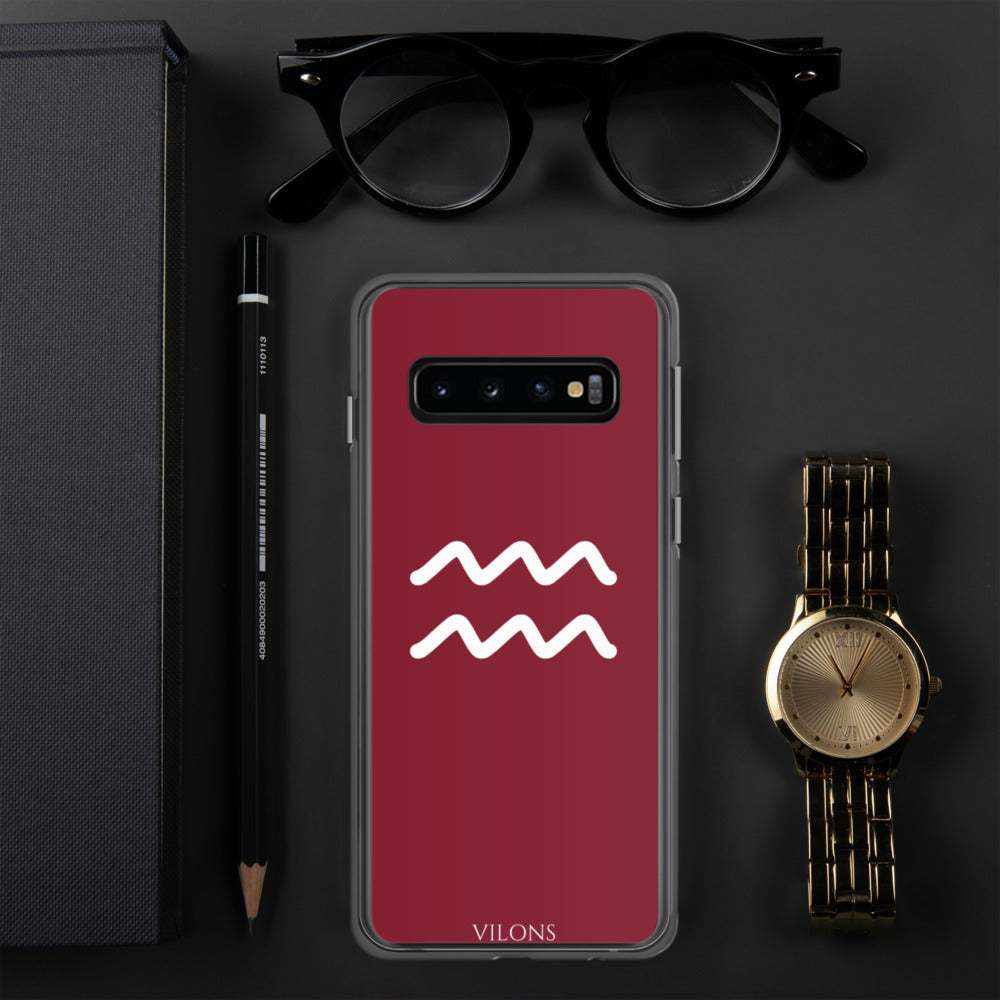 AQUARIUS RED Samsung Case