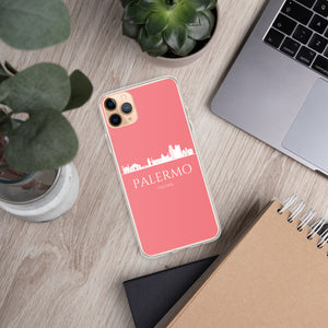 PALERMO PINK/WHITE iPhone Case