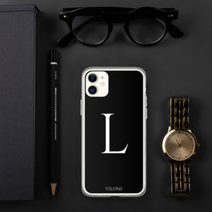 L BLACK iPhone Case