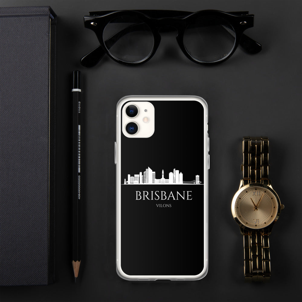 BRISBANE DARK iPhone Case