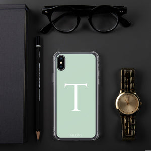 T LIGHT GREEN iPhone Case