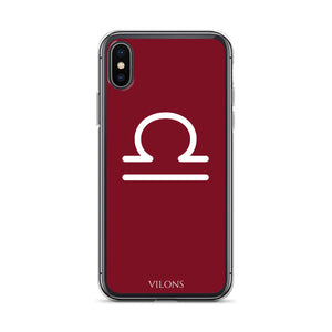 LIBRA RED iPhone Case