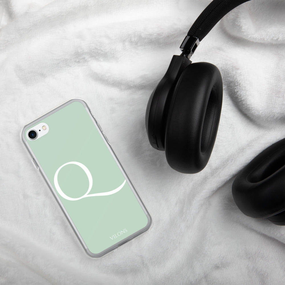 Q LIGHT GREEN iPhone Case