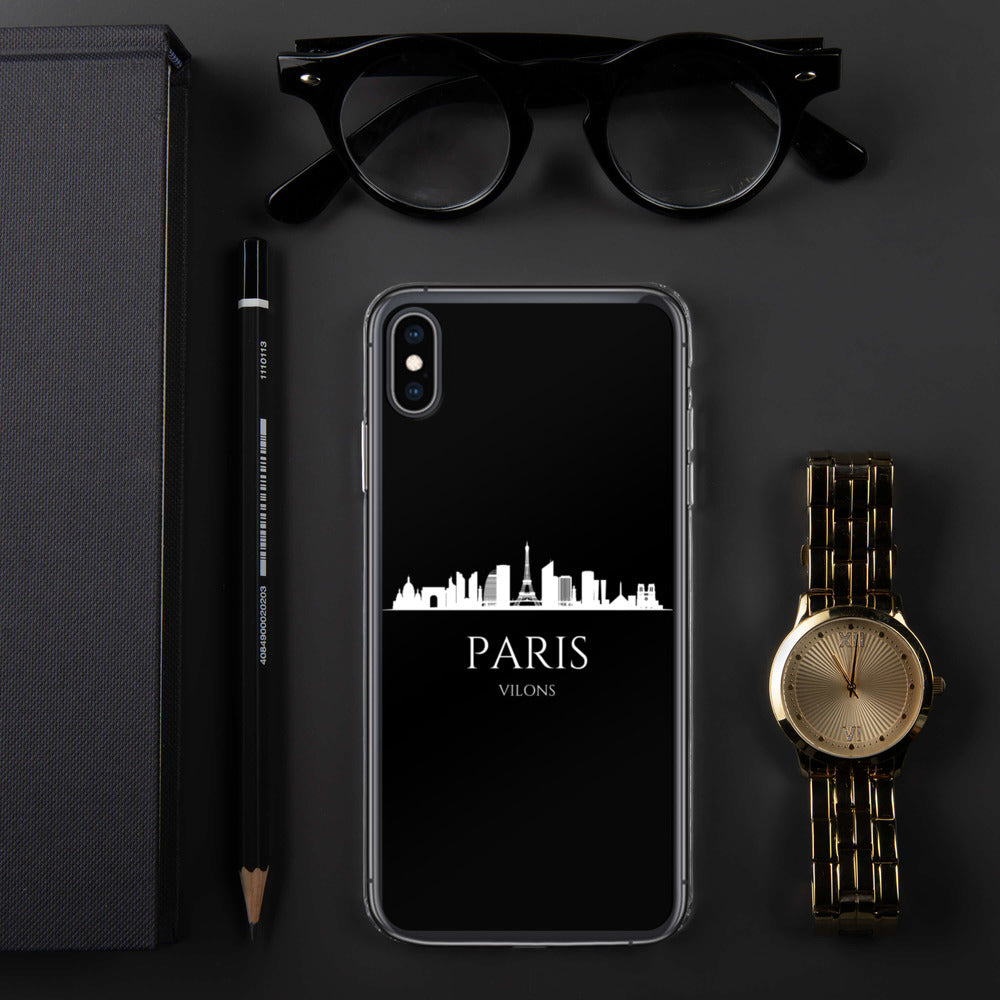 PARIS DARK iPhone Case