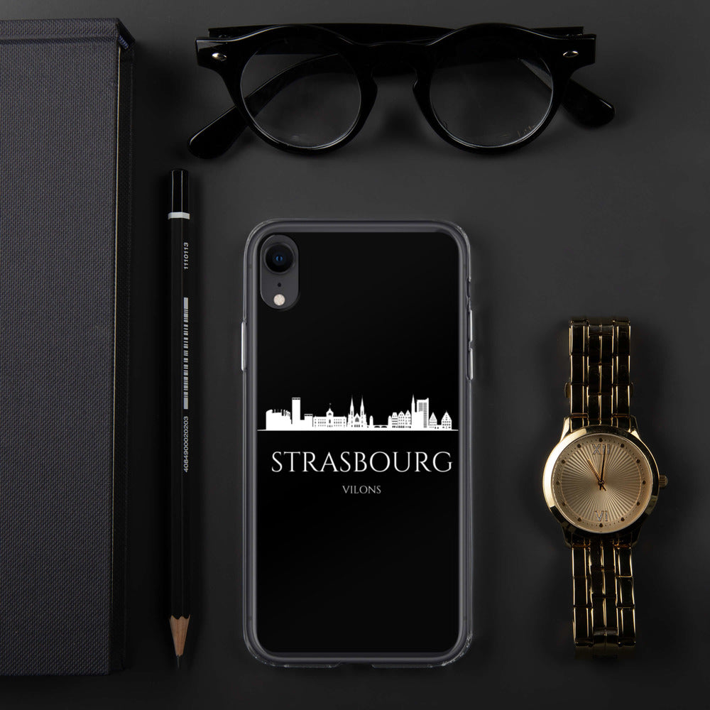 STRASBOURG DARK iPhone Case