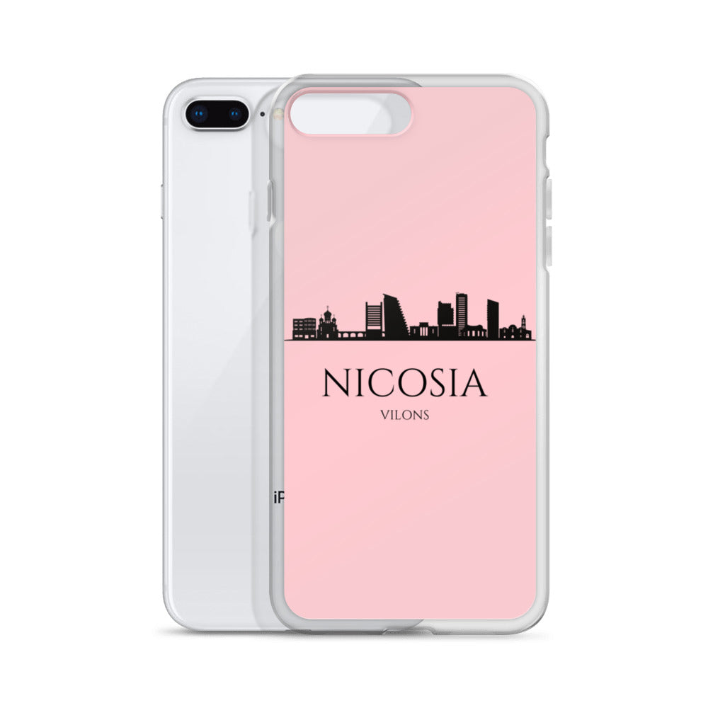 NICOSIA PINK iPhone Case