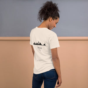 PISA Short-Sleeve Unisex T-Shirt