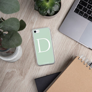 D LIGHT GREEN iPhone Case