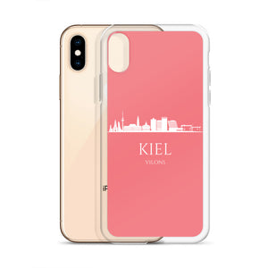 KIEL PINK/WHITE iPhone Case