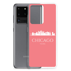 CHICAGO PINK/WHITE Samsung Case