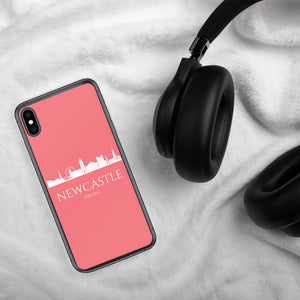 NEWCASTLE PINK/WHITE iPhone Case
