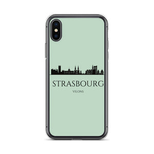 STRASBOURG GREEN iPhone Case