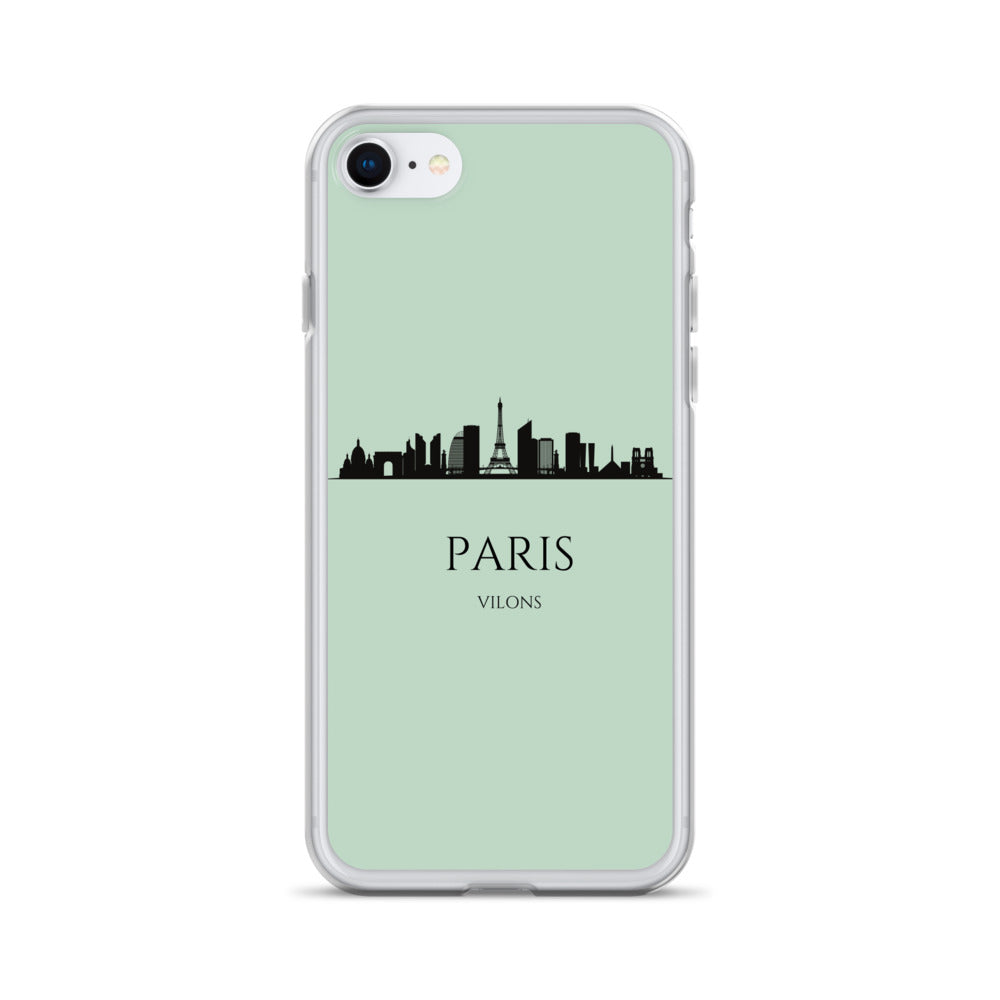 PARIS GREEN iPhone Case