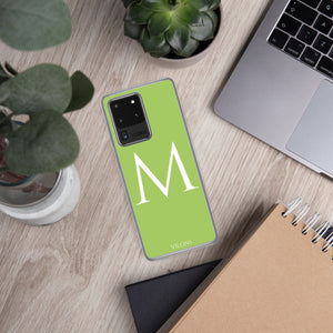M GREEN Samsung Case