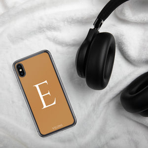 E BROWN iPhone Case