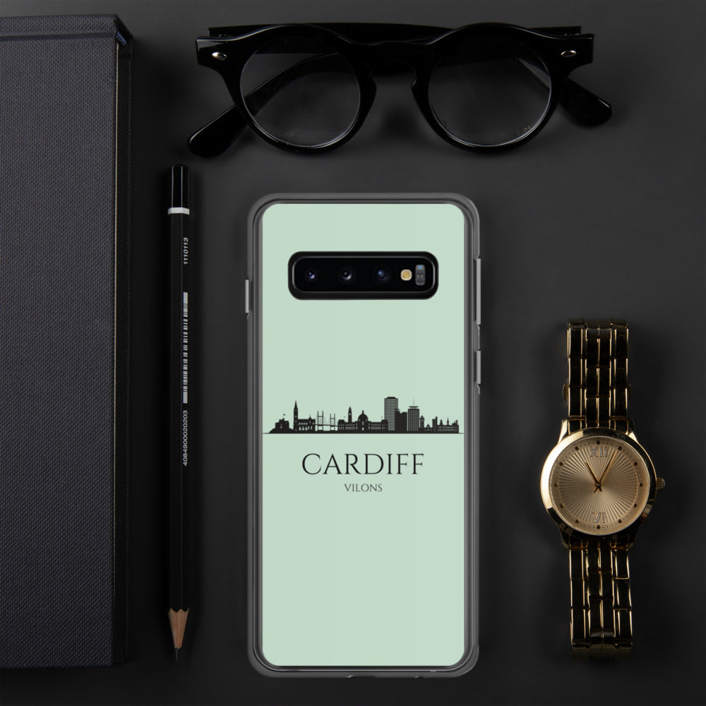 CARDIFF LIGHT BLUE Samsung Case