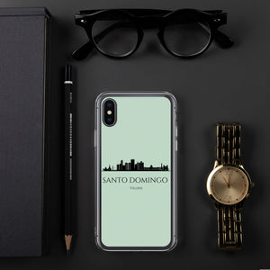 SANTO DOMINGO GREEN iPhone Case