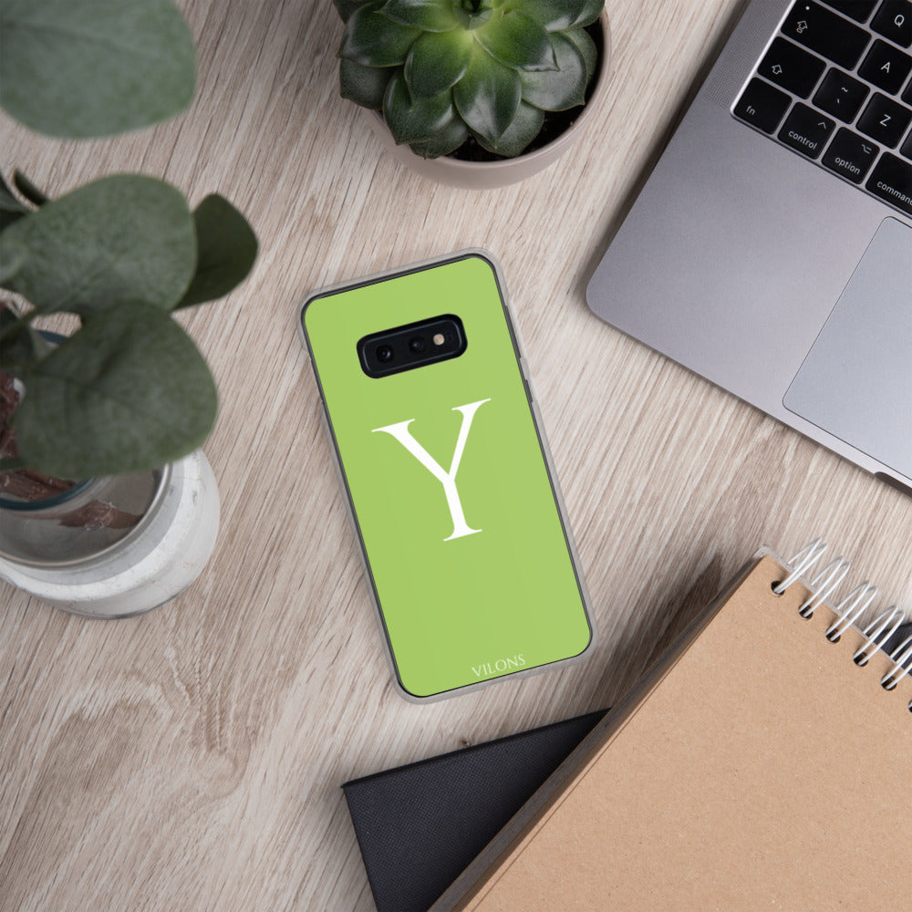 Y GREEN Samsung Case