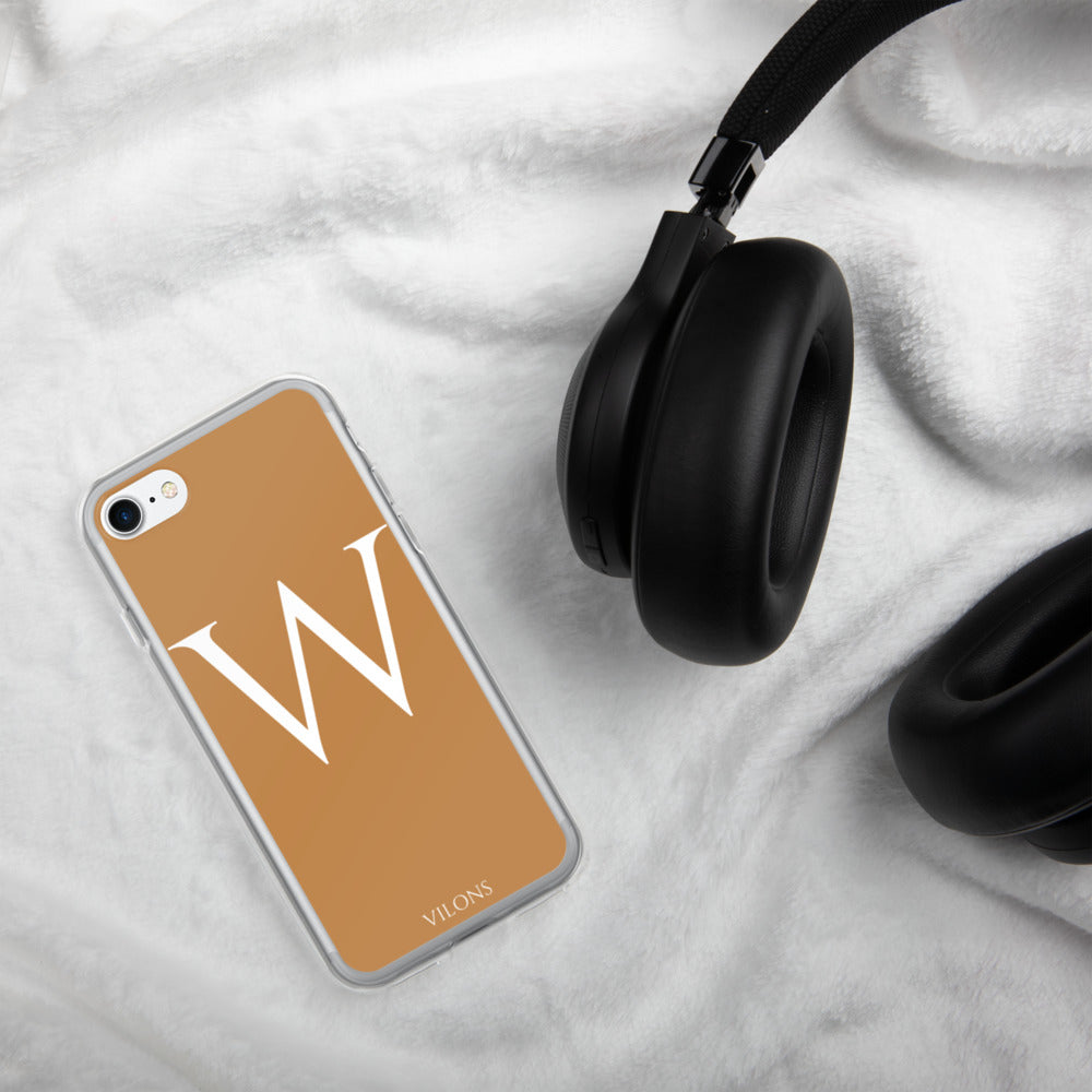 W BROWN iPhone Case
