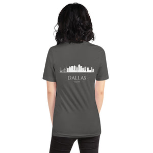 DALLAS DARK Short-Sleeve Unisex T-Shirt