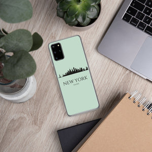 NEW YORK LIGHT BLUE Samsung Case